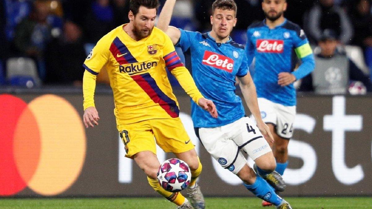 Барселона – Наполи: УЕФА ответил на призывы итальянцев перенести матч Лиги чемпионов на нейтральное поле