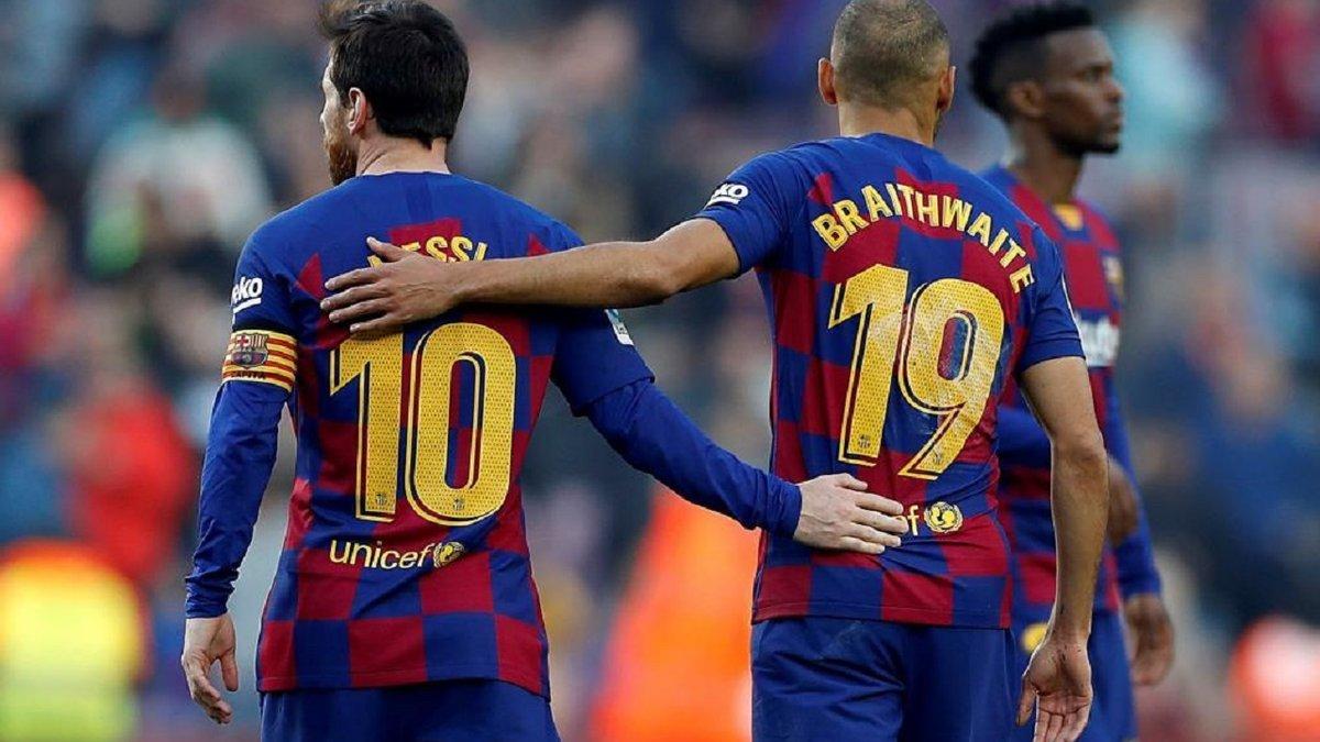 Брейтвейт заинтересовал 2 клуба АПЛ – форвард Барселоны может стать партнером Ярмоленко