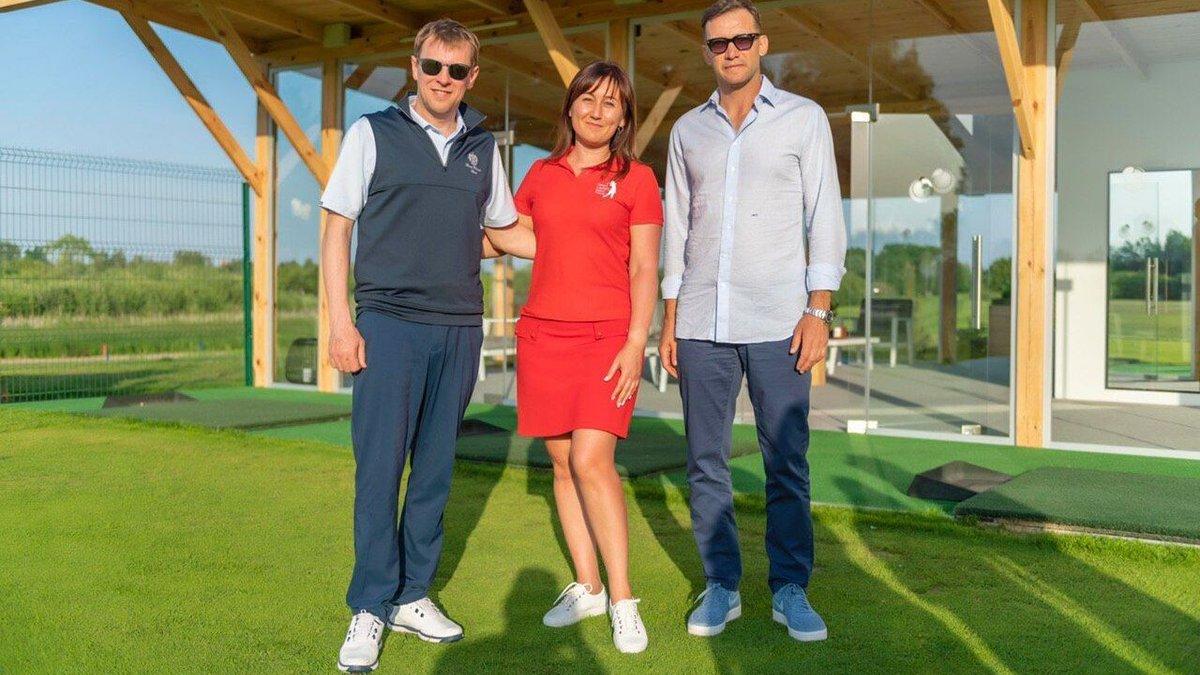 Шевченко в компании экс-регионала отпраздновал день рождения федерации гольфа