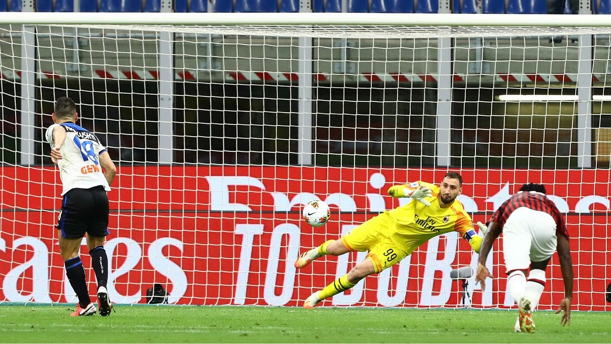 Маліновський допоміг Доннаруммі встановити рекорд для голкіперів топ-5 чемпіонатів Європи