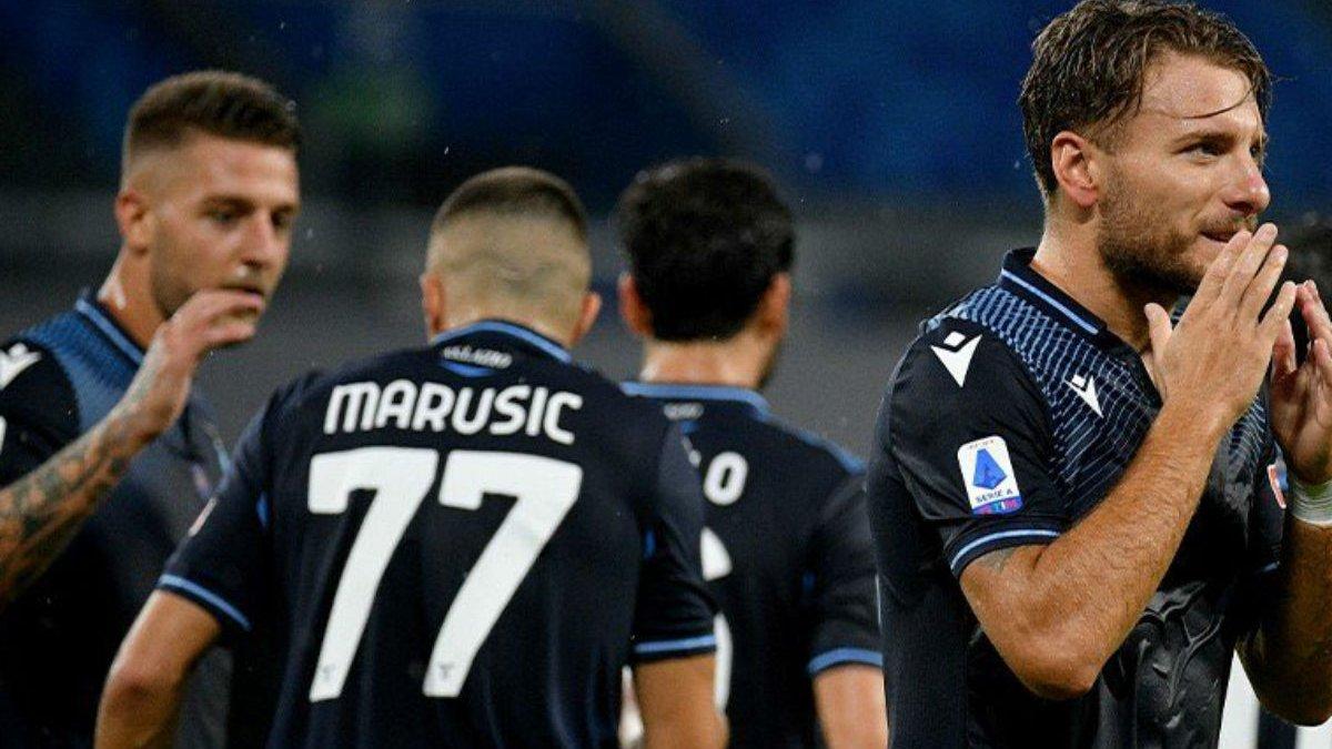 Гол Иммобиле и повторение бомбардирского рекорда Италии в видеообзоре матча Наполи – Лацио