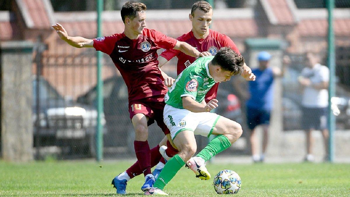 Карпати у першому спарингу міжсезоння обіграли Львів у матчі з сімома голами