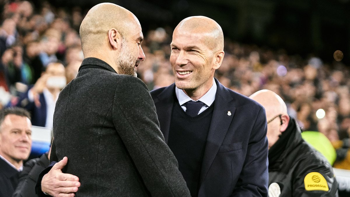 Манчестер Сіті – Реал: Гвардіола поспілкувався із Зіданом, сидячи на смітнику – фото дня