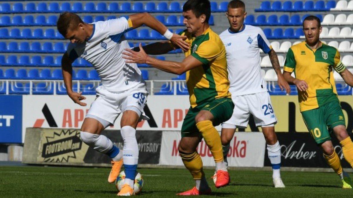 Динамо – Полісся – 5:1 – відео голів та огляд матчу