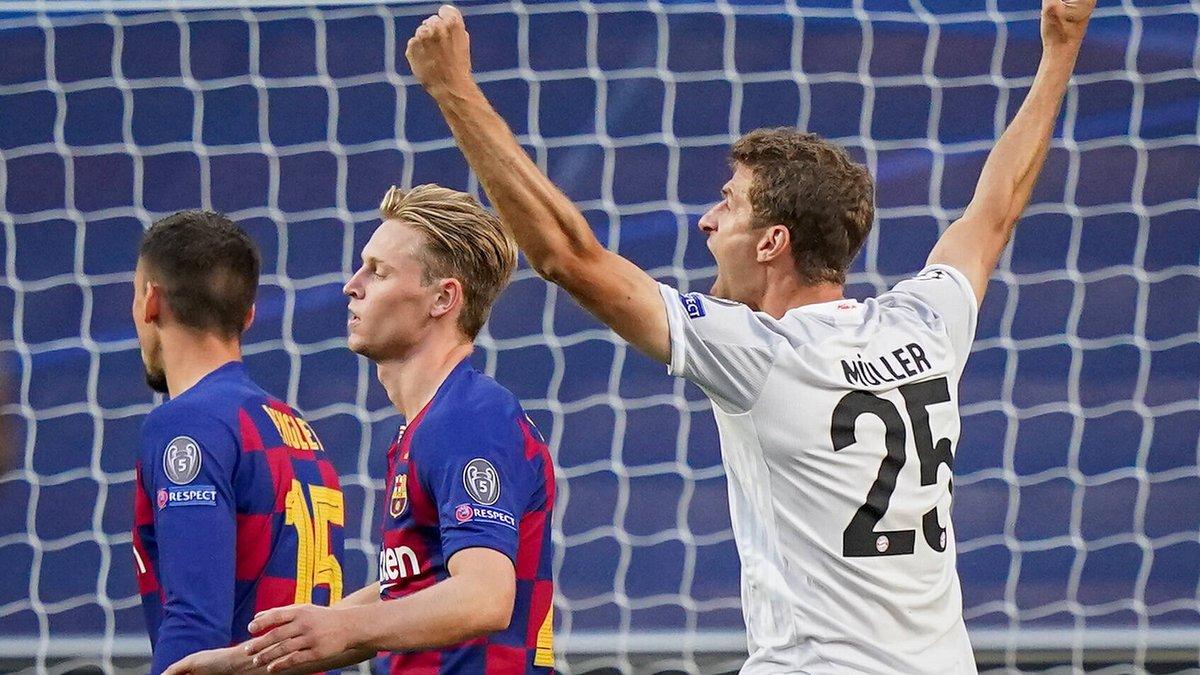 Барселона – Бавария – 2:8 – видео голов и обзор уничтожения каталонцев