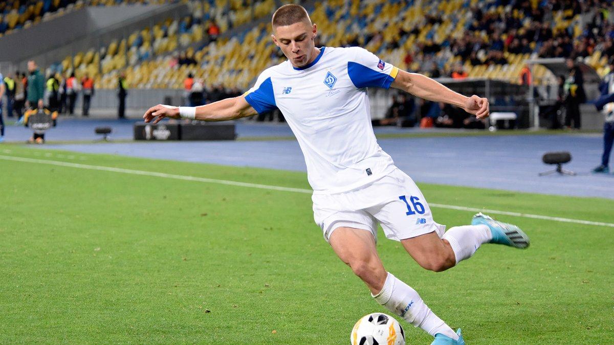 Луческу – о Миколенко: Он смело может играть в Серии А