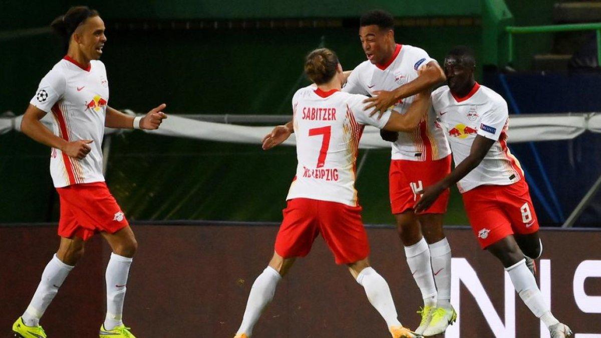 РБ Лейпциг повторил уникальное достижение Роналду в матчах плей-офф Лиги чемпионов против Атлетико Симеоне