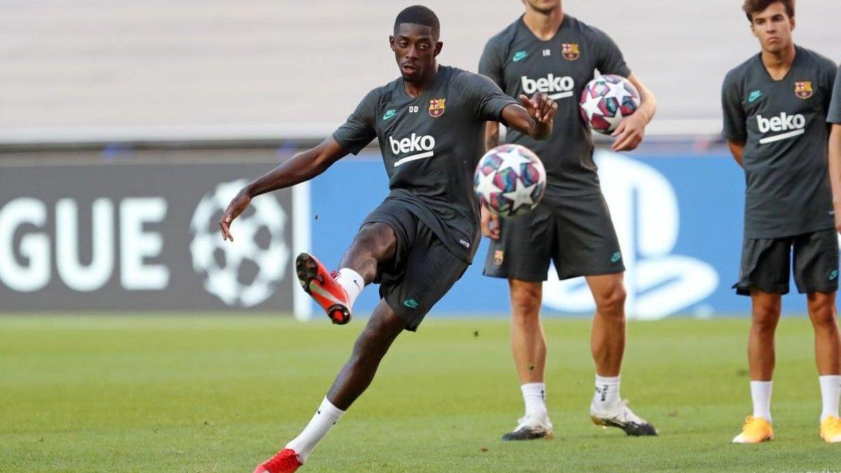 Барселона – Бавария: Дембеле может помочь каталонцам в матче Лиги чемпионов