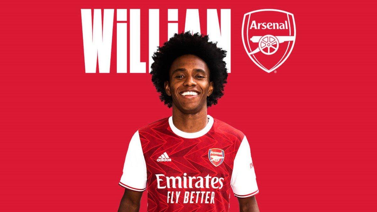 Виллиан официально стал игроком Арсенала