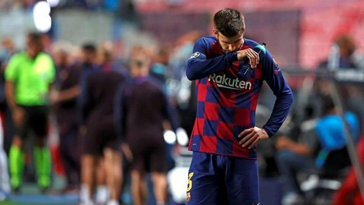 Иньеста поддержал Барселону после фиаско в Лиге чемпионов