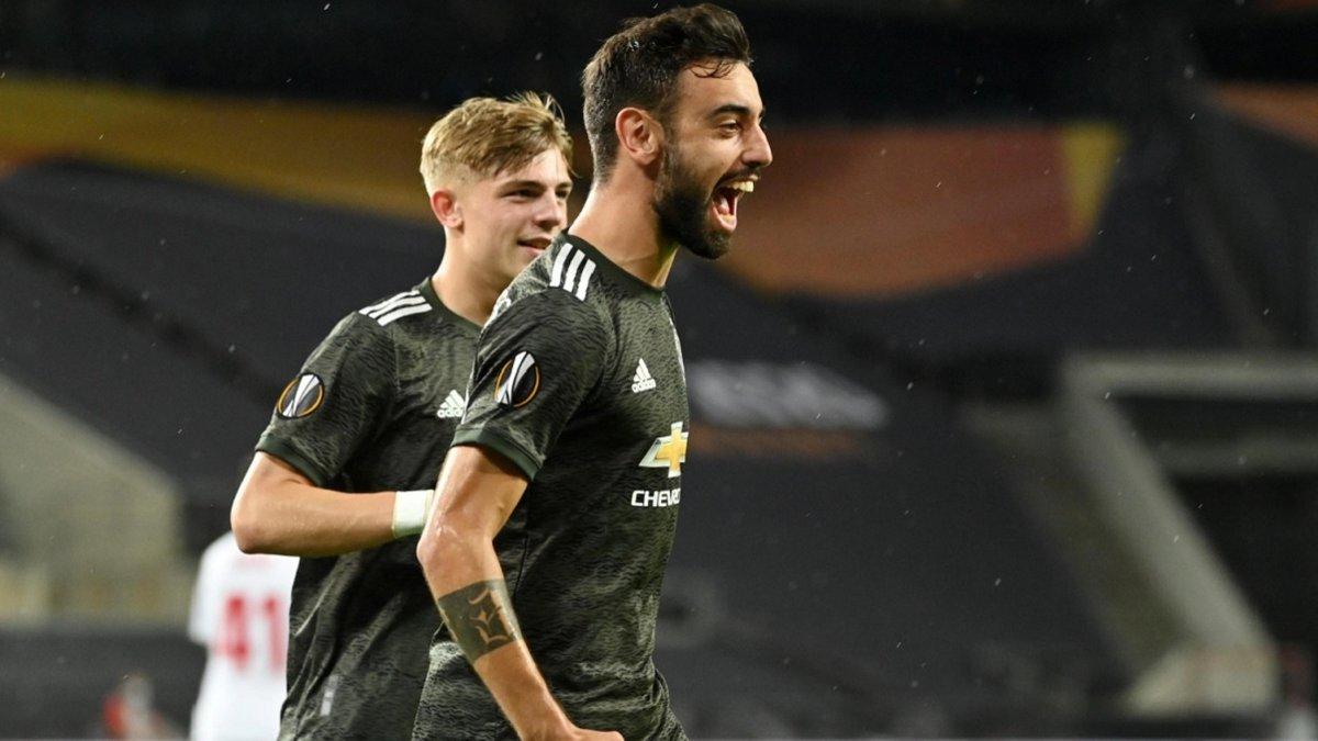 Хавбек Манчестер Юнайтед стал лучшим бомбардиром Лиги Европы – полузащитник опередил Лукаку