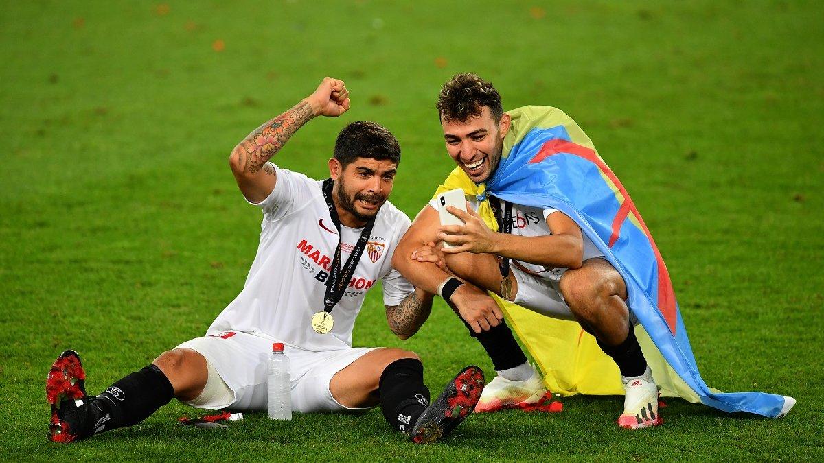 Севилья – Интер: Банега тепло попрощался с командой после финала Лиги Европы