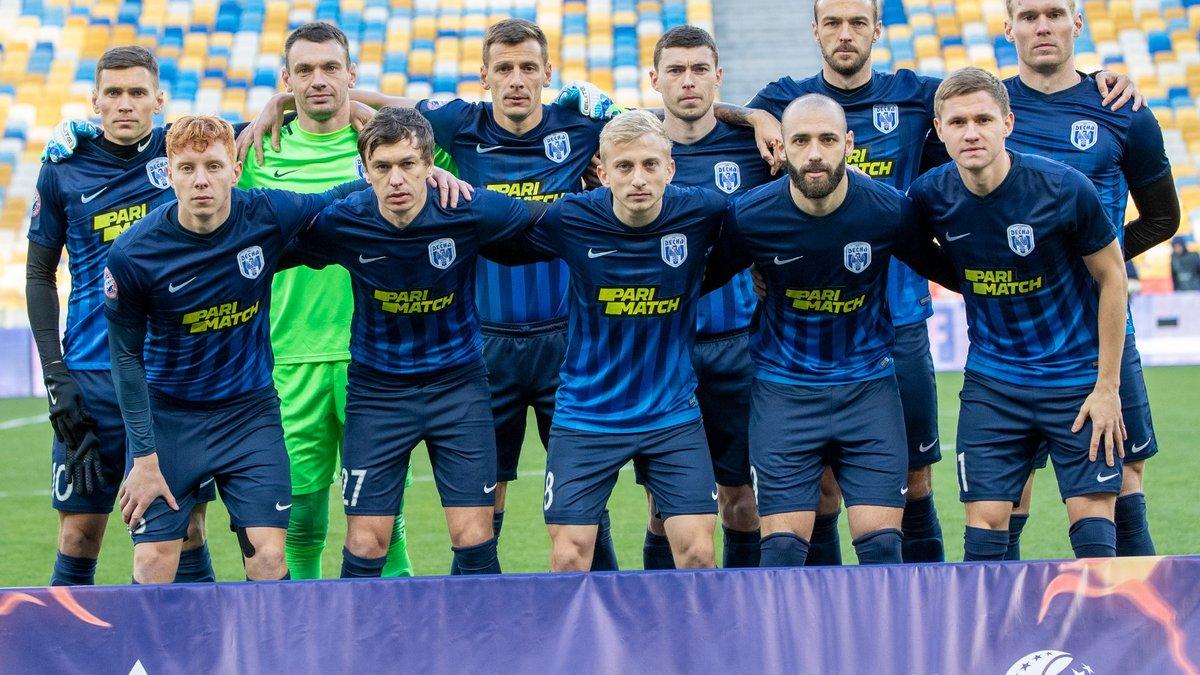 Десна представила все комплекты формы на сезон 2020/21