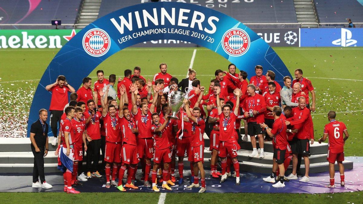 Бавария установила уникальное достижение в Лиге чемпионов