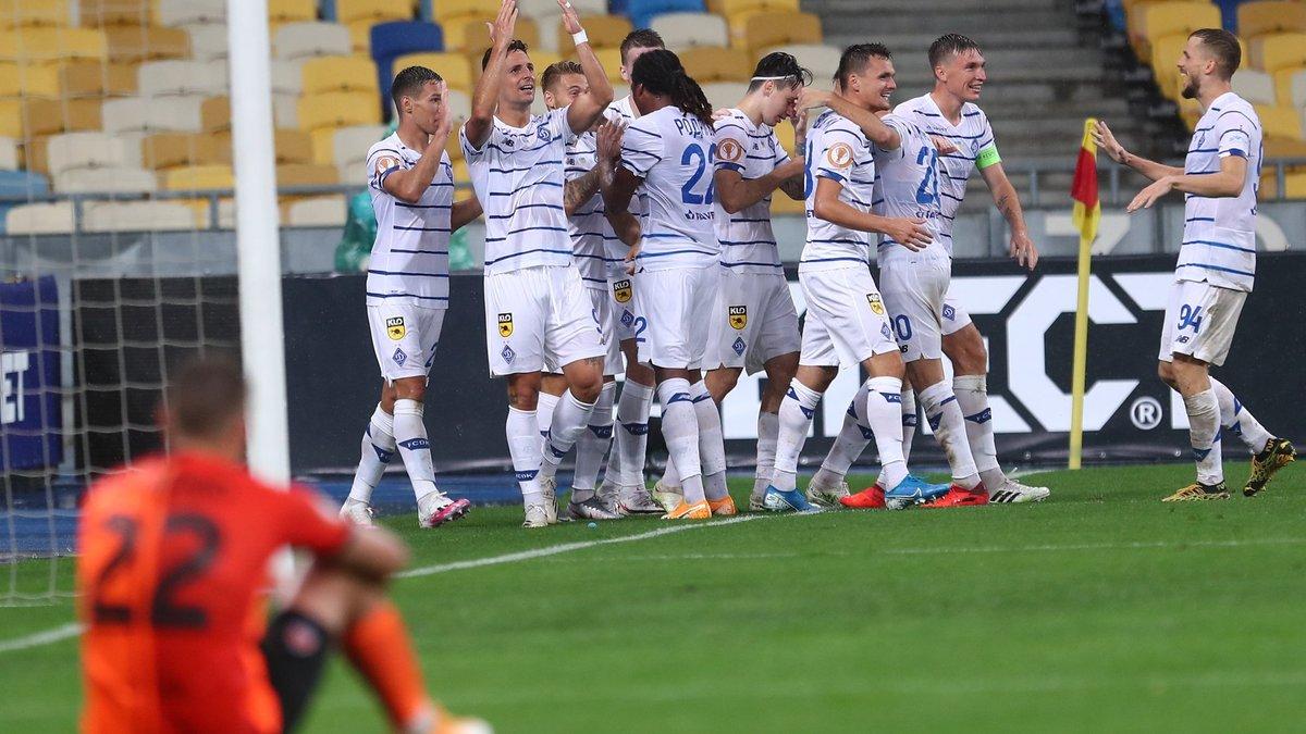 Shahter Dinamo Kiev Obzor I Schet Matcha 25 Avgusta 2020
