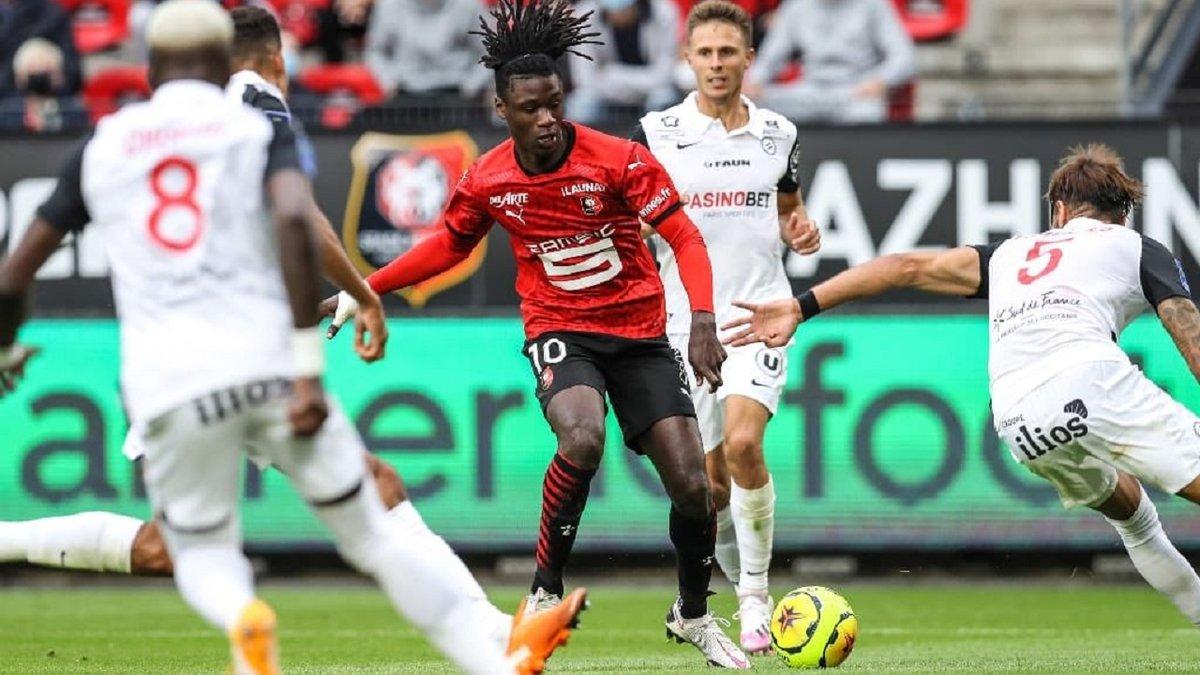 Лига 1: Ренн обыграл Монпелье благодаря голу своего вундеркинда, Страсбур уступил Ницце