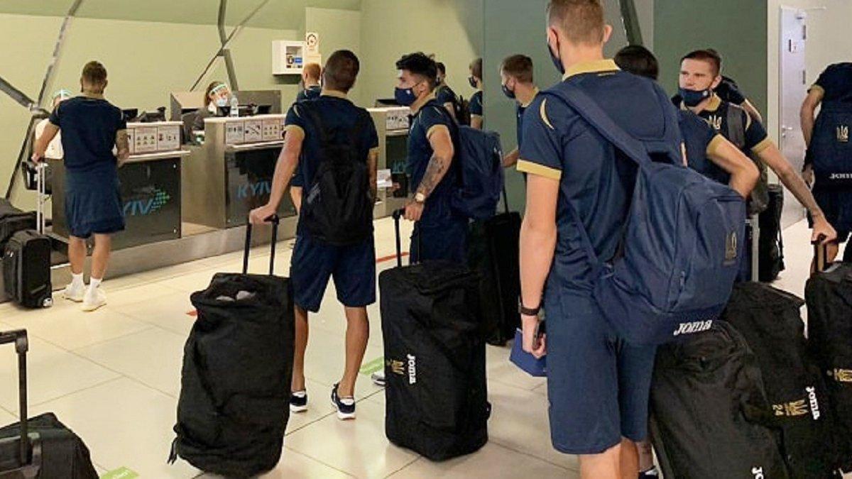Збірна України U-21 вирушила до Фінляндії на черговий матч кваліфікації Євро-2021
