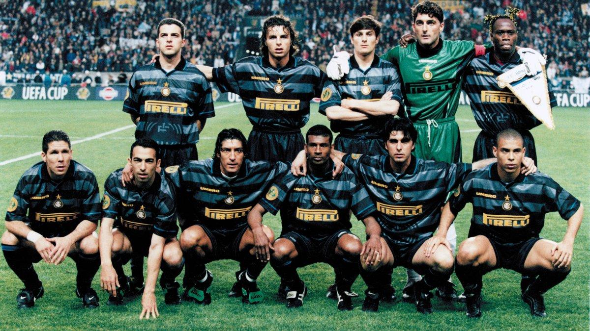 Интер презентовал третий комплект формы – дух 90-х и ностальгия по Роналдо и Саморано