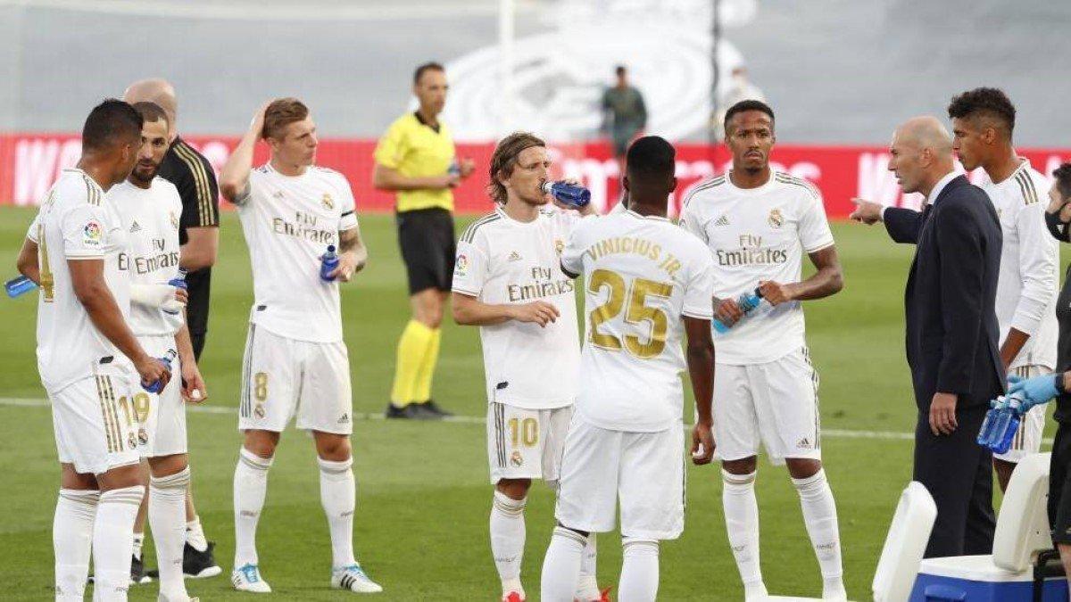 Реал впервые в своей истории сыграет с чемпионскими нашивками в Ла Лиге