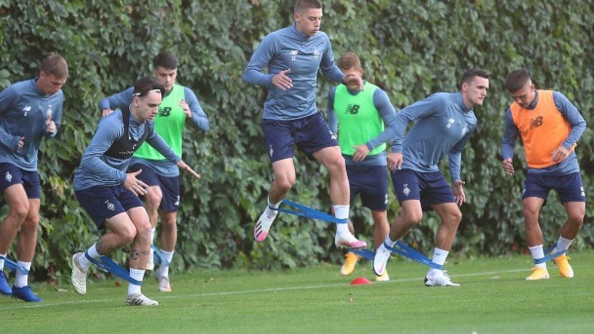 Шапаренко вернулся в общую группу Динамо