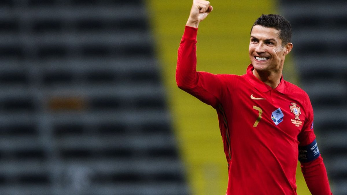 Роналду установил уникальное достижение, первым в истории европейских сборных забив 100 голов