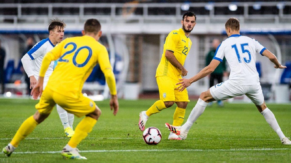 Трубин убежден, что сборная Украины U-21 не показала свой максимум в матче против Финляндии