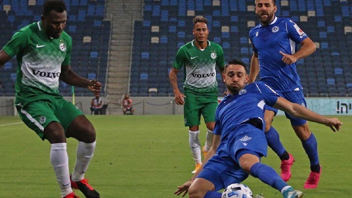 Лига Европы: уроженец Николаева обеспечил Маккаби из Хайфы победу над Железничаром