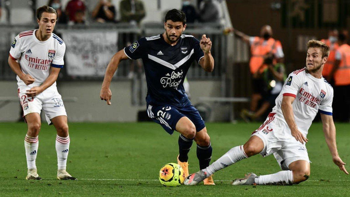 Лига 1: Лион неожиданно потерял очки в матче с Бордо