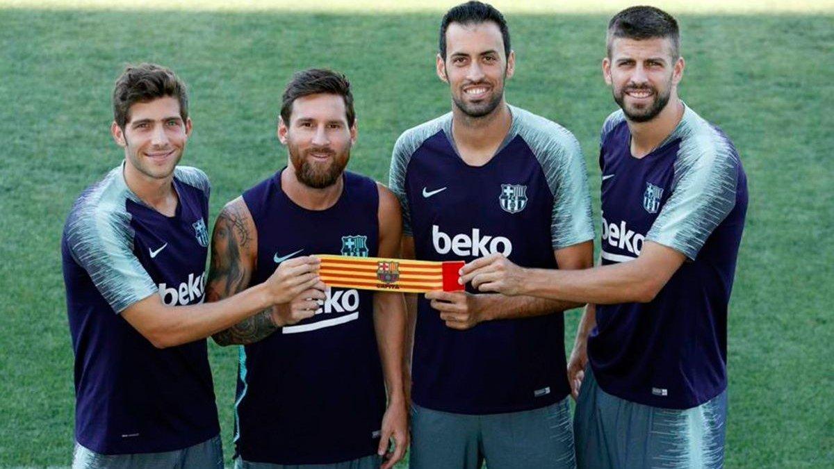 Барселона определилась с капитанами на сезон – Месси не утратил своего статуса