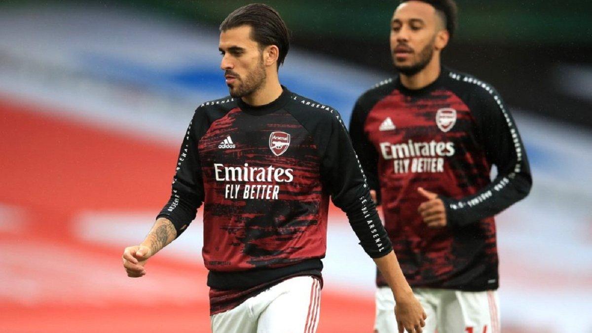 """Себальйос і Нкетія ледь не побились на розминці Арсенала – """"розбишак"""" розтягнули партнери"""