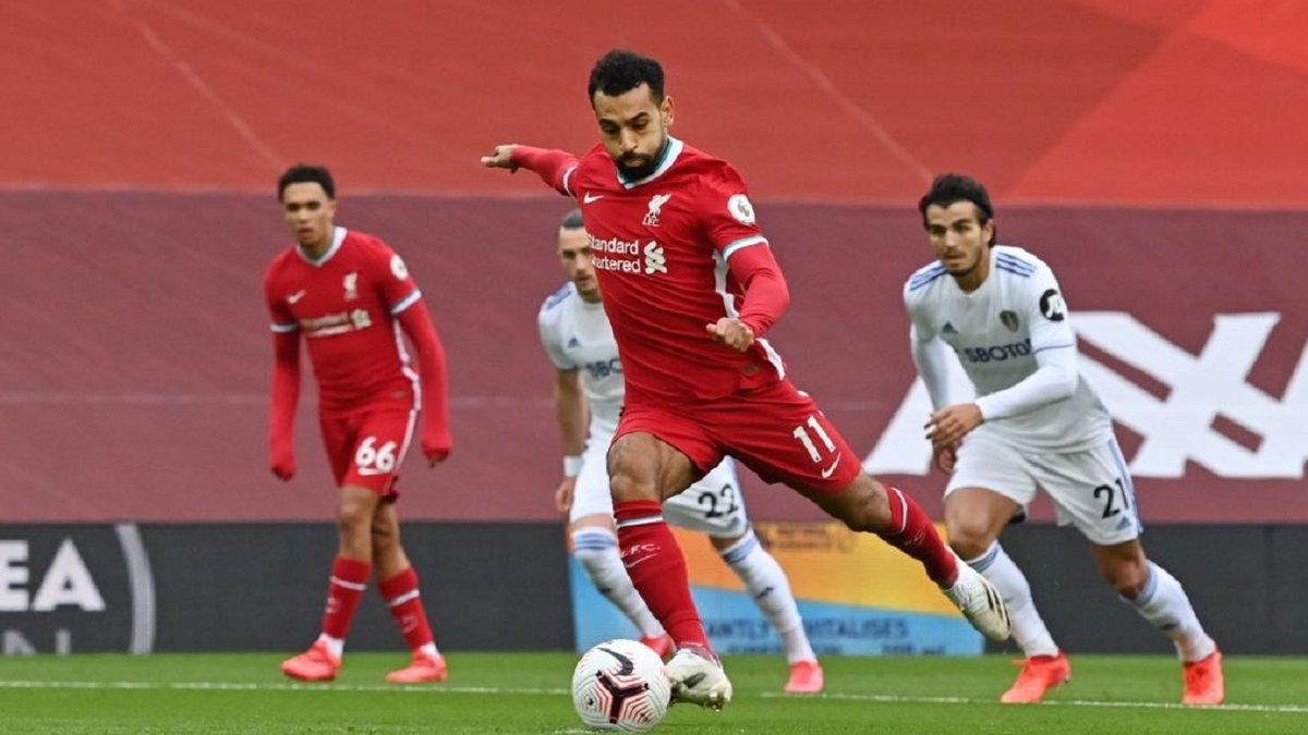 Салах увійшов в історію Ліверпуля завдяки голам у перших турах АПЛ