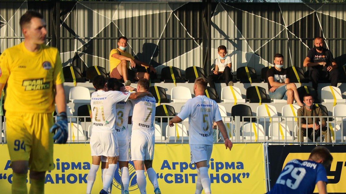Колос – Львов – 4:0 – видео голов и обзор матча