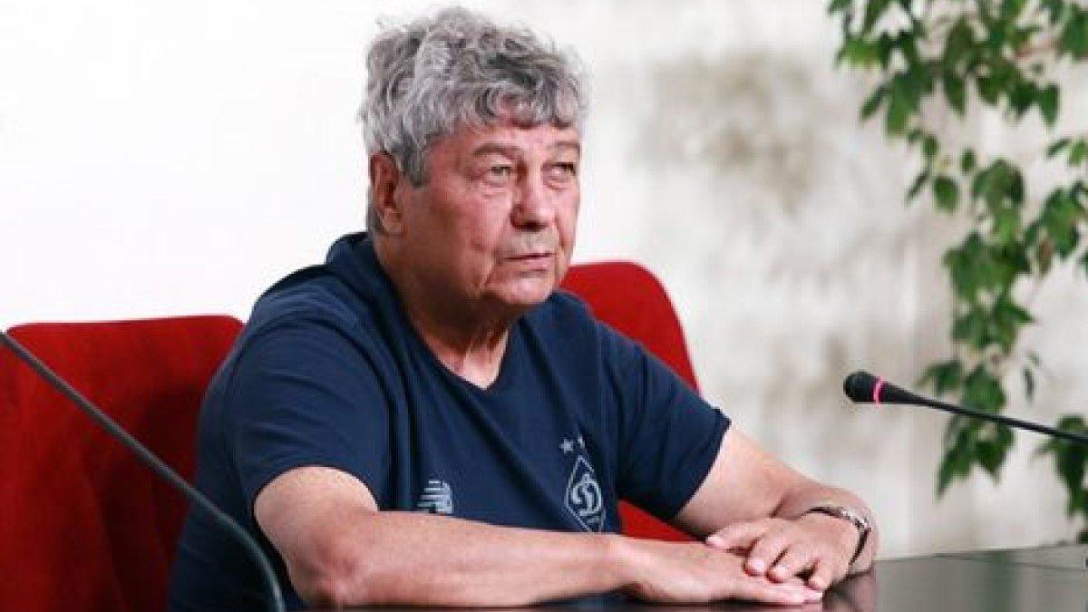 Динамо – АЗ: Луческу неординарною витівкою розпочав прес-конференцію – курйоз дня