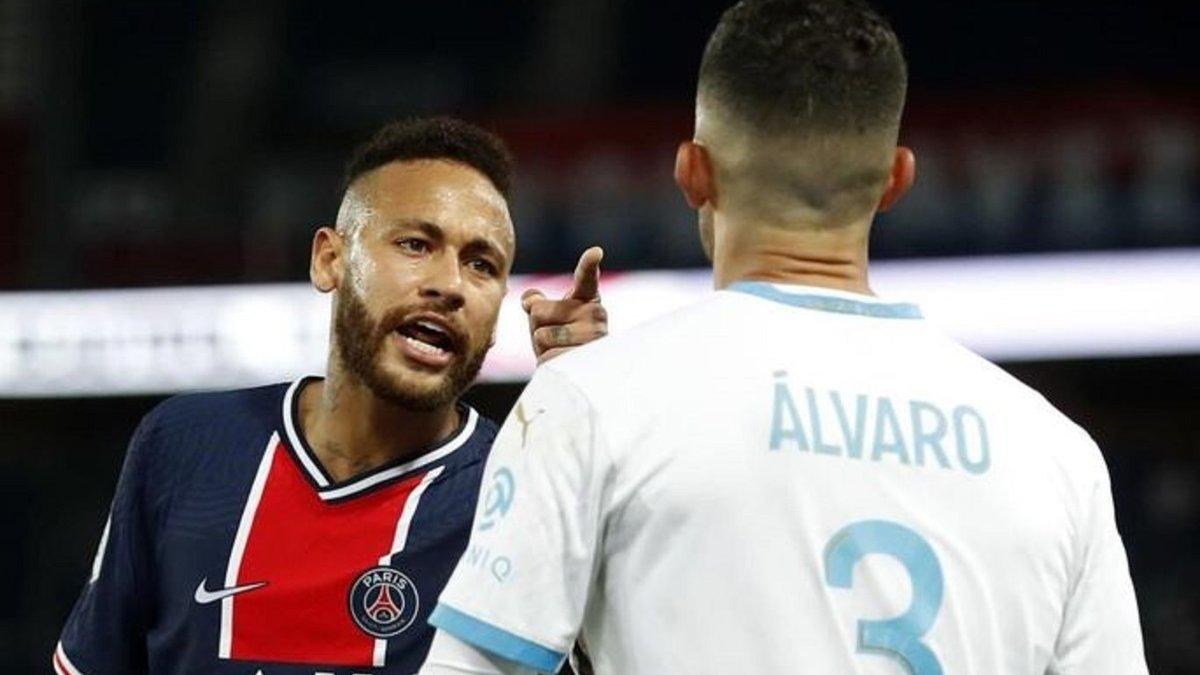 """""""Альваро получал смертельные угрозы"""", – тренер Марселя встал на защиту своего игрока в конфликте с Неймаром"""