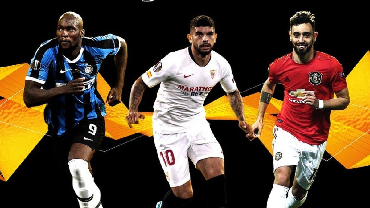 УЕФА объявил тройку претендентов на звание лучшего игрока Лиги Европы 2019/20