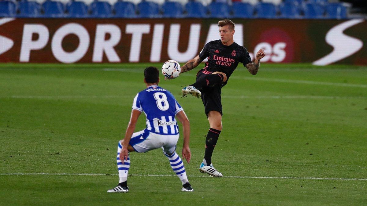 Реал стартовал в Примере сенсационной ничьей с Сосьедадом – Лунин начал сезон за спиной Куртуа