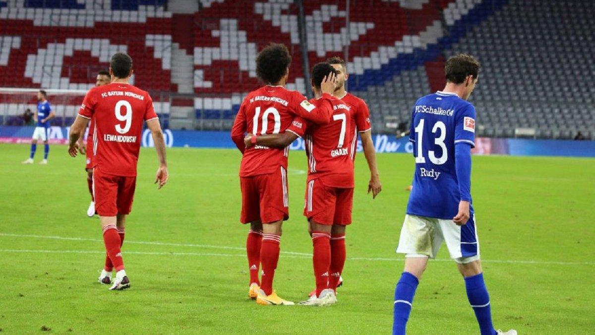 Феєричне побиття у відеоогляді матчу Баварія – Шальке – 8:0