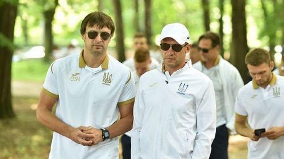 Шовковский остался в сборной Украины, несмотря на старт политической карьеры