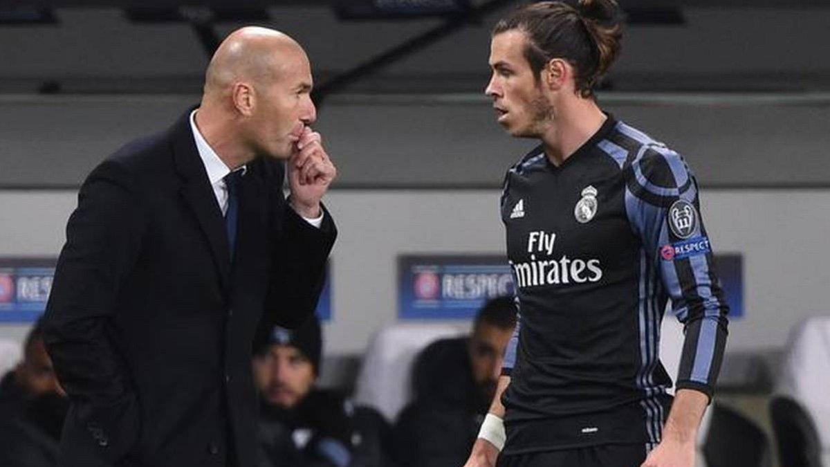 Зидан прокомментировал слухи об уходе Бэйла из Реала из-за своей персоны