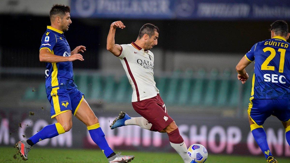 Верона розписала безгольову нічию із Ромою, Фіорентинамінімально здолала Торіно у першому матчі сезону