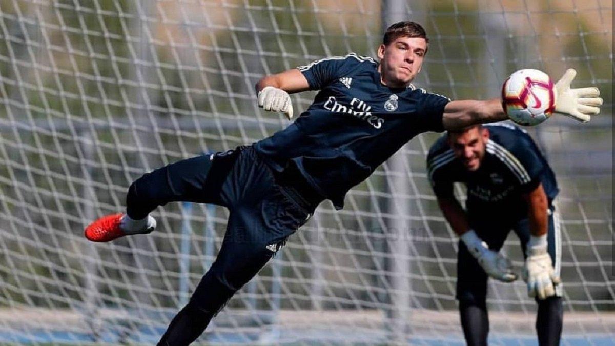Лунін – про майбутнє у Реалі: В цьому сезоні я здійснюю свою мрію