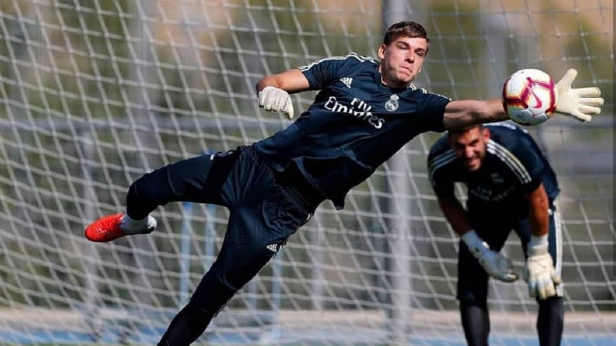 Лунин – о будущем в Реале: В этом сезоне я осуществляю свою мечту