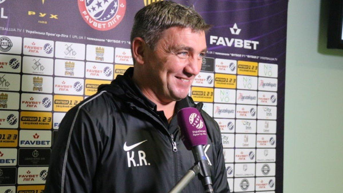 Костишин оцінив форму Селезньова після повернення в УПЛ