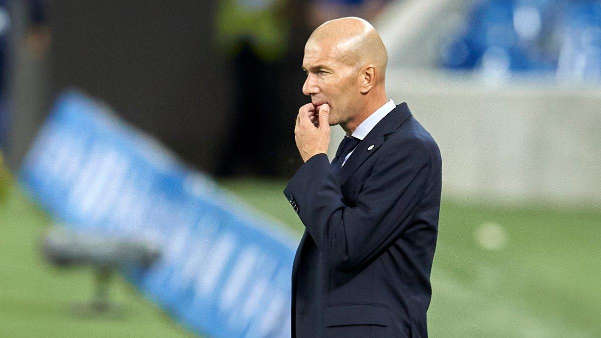 Зідан знайшов позитив у втраті очок Реалом в першому матчі сезону
