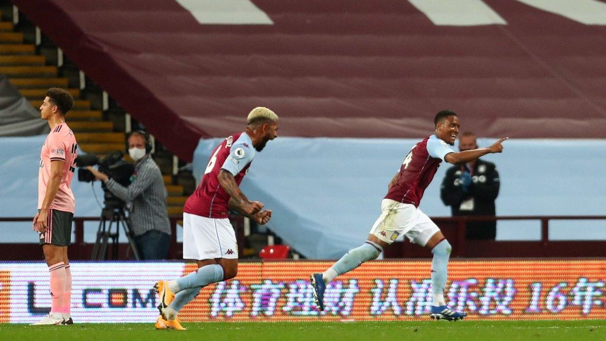 Астон Вилла переиграла Шеффилд Юнайтед в матче с удалением и нереализованным пенальти