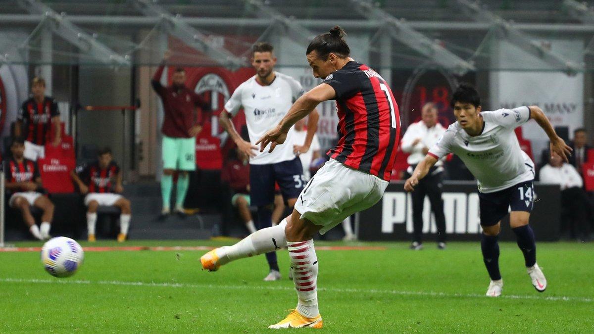 Мілан впевнено обіграв Болонью – дубль Ібрагімовіча забезпечив успішний старт команди Піолі в Серії А