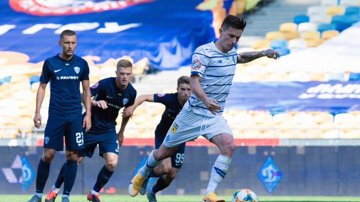 Минай – Динамо – 0:4 – видео голов и обзор матча