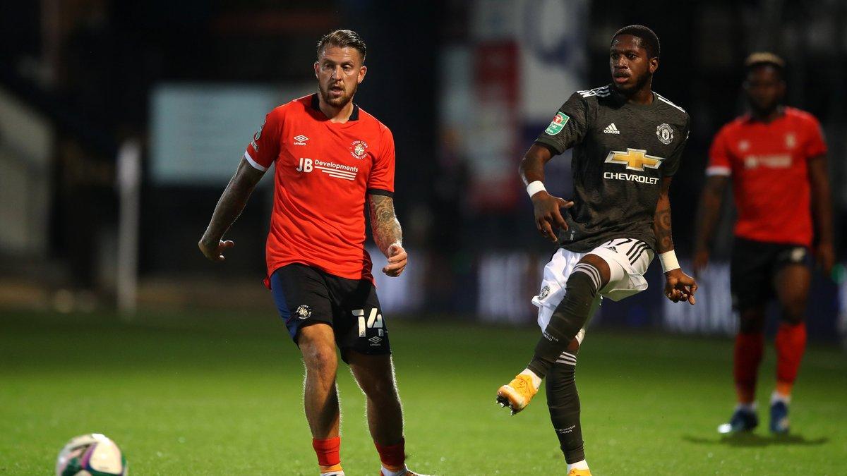 Кубок ліги: Манчестер Юнайтед розгромив Лутон Таун, Тоттенхем не зіграв через коронавірус