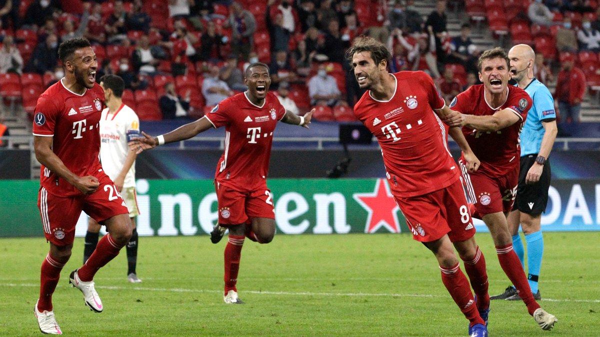 Бавария победила Севилью в Суперкубке УЕФА: ремейк Шахтера-2009, триумф Мюллера и Ко и прощальный подарок Мартинеса