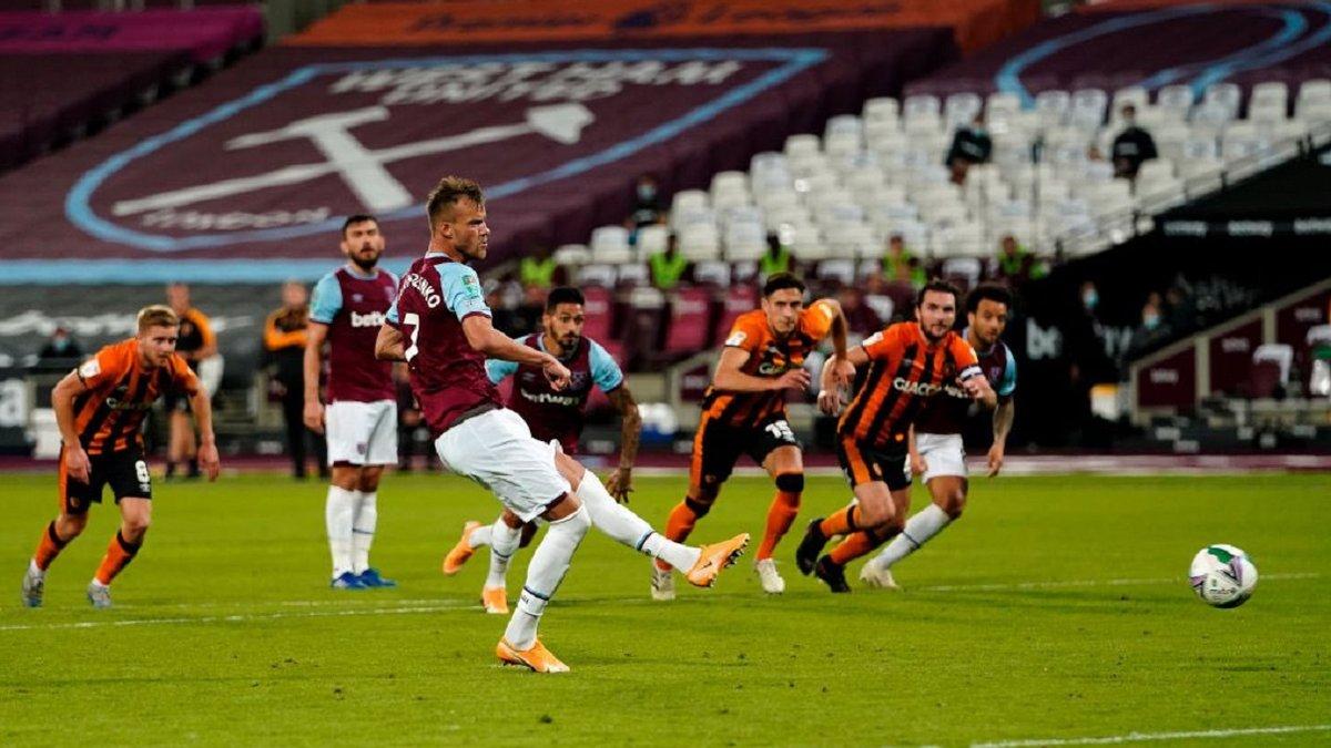 Ярмоленко отримав позитивний сигнал від тренера Вест Хема – божевільний виступ у Кубку ліги може відкрити шлях до основи